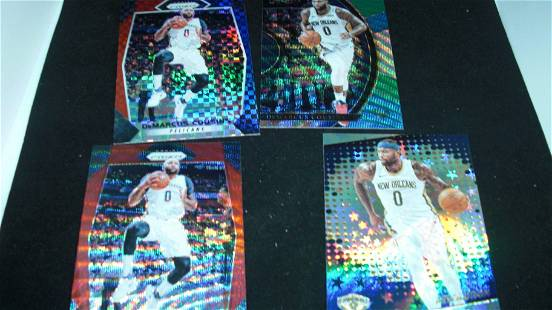 BOOGIE COUSINS PANINI PRIZM PARALELL SPS