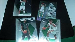 LOT OF 4 BOSTON CELTICS ROOKIE BASKETBALL CARDS