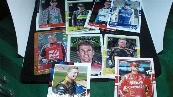 LOT OF ASSORTED NASCAR RACING CARDS