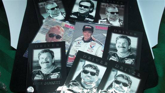 LOT OF ASSORTED 1990'S NASCAR CARDS