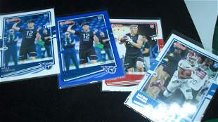 LOT OF 4 ROOKIE FOOTBALL CARDS