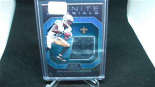 BRANDON COOKS NUMBERED JERSEY CARD 02/88