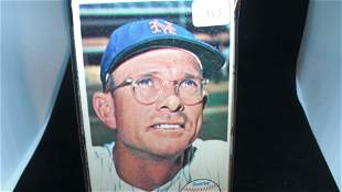 VINTAGE 1964 TOPPS GIANT LARGE 3x5 CARD