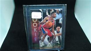 ALLEN IVERSON THE ANSWER PHILLY 76ers ROOKIE CARD