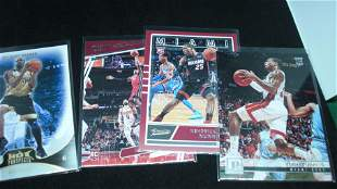 LOT OF 4 ROOKIE BASETBALL CARDS