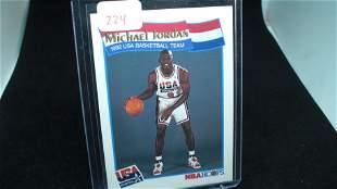 1991-92 NBA Hoops Michael Jordan USA Olympic Dream Team