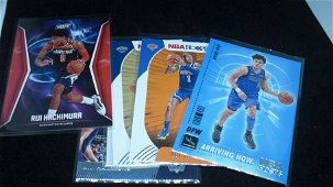 LOT OF 6 ROOKIE BASKETBALL CARDS