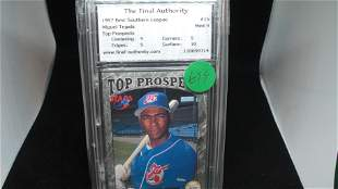 the final authority graded 1997 miguel tejada mint 9