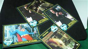 lot of 5 superman cards