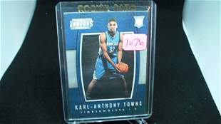 karl anthony towns rookie