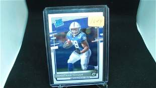 jonathan taylor rated rookie optic
