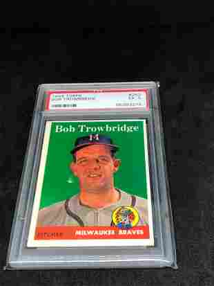 1958 Topps PSA 5 Bob Trowbridge