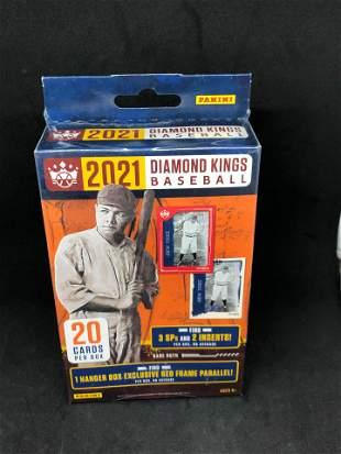 2021 Diamond Kings Panini Baseball Card Box