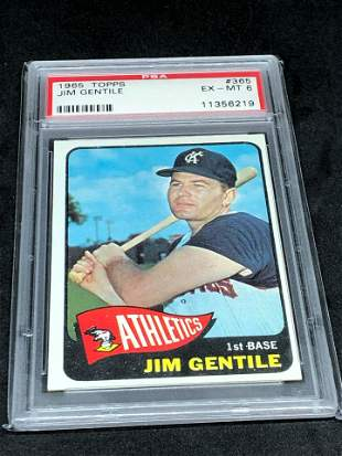 1965 Topps Jim Gentile PSA 6