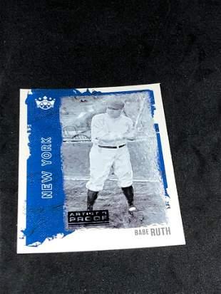 Babe Ruth Diamond Kings Artist Proof Parallel