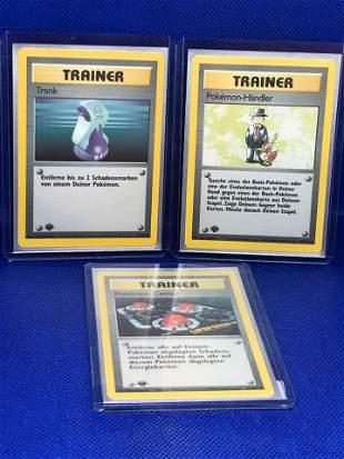 1st Edition German Trainer Pokemon Cards
