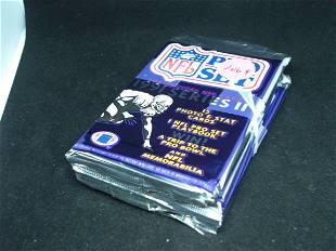 4 packs NFL pro set series 2