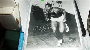 oj simpson 8x10 autographed photo with coa