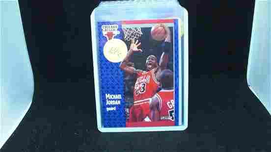 Michael Jordan 1991 fleer card
