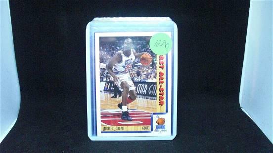 Michael Jordan upper deck All Star