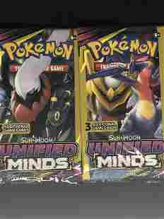 Unified Minds Pokemon Card Packs
