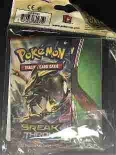 Break Through Pokemon Card Pack & Binder