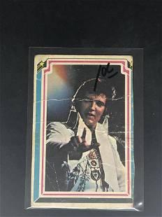 Elvis Presley Trading Card