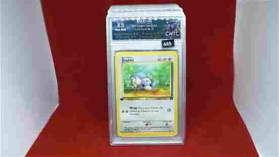 cwtc graded 8.5 dratini pokemon card