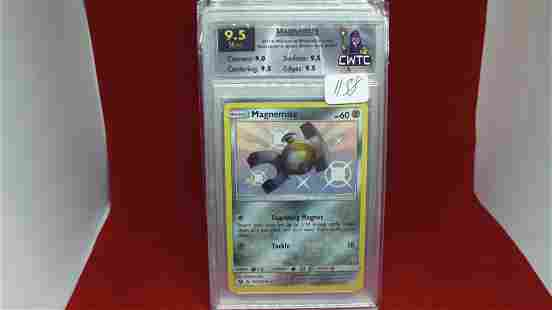 cwtc graded 9.5 magnemite pokemon card