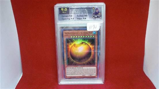 cwtc graded 9.0 yu-gi-oh card