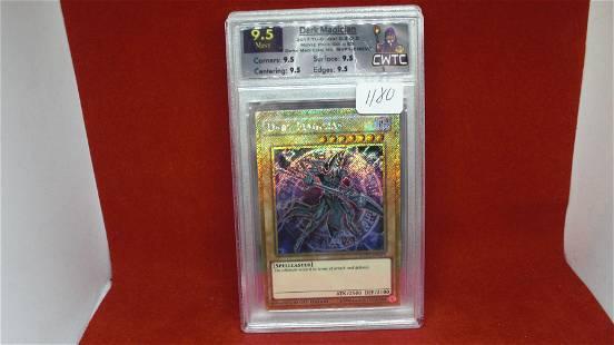 cwtc graded 9.5 yu-gi-oh card