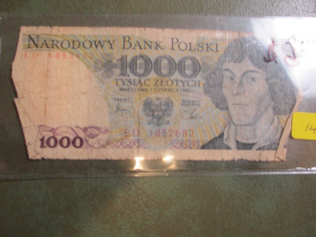 Polish Note World Currency