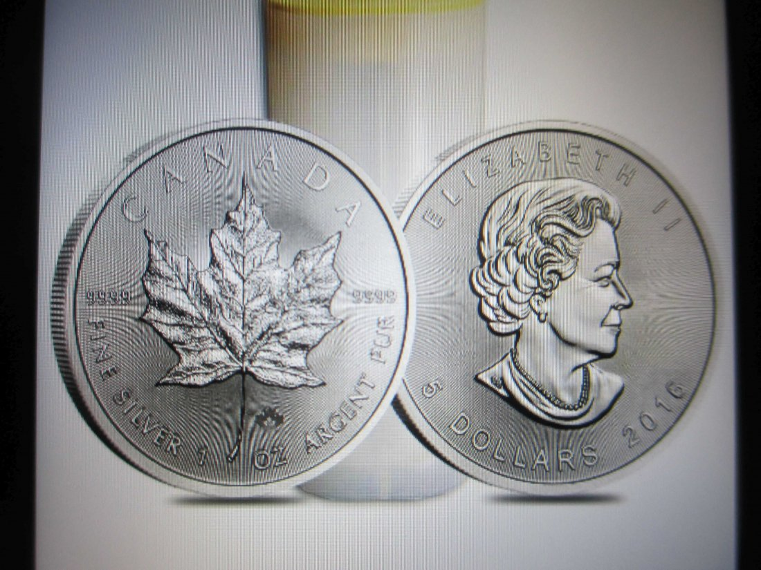 2016 1 Ounce Canada Silver Maple Leaf