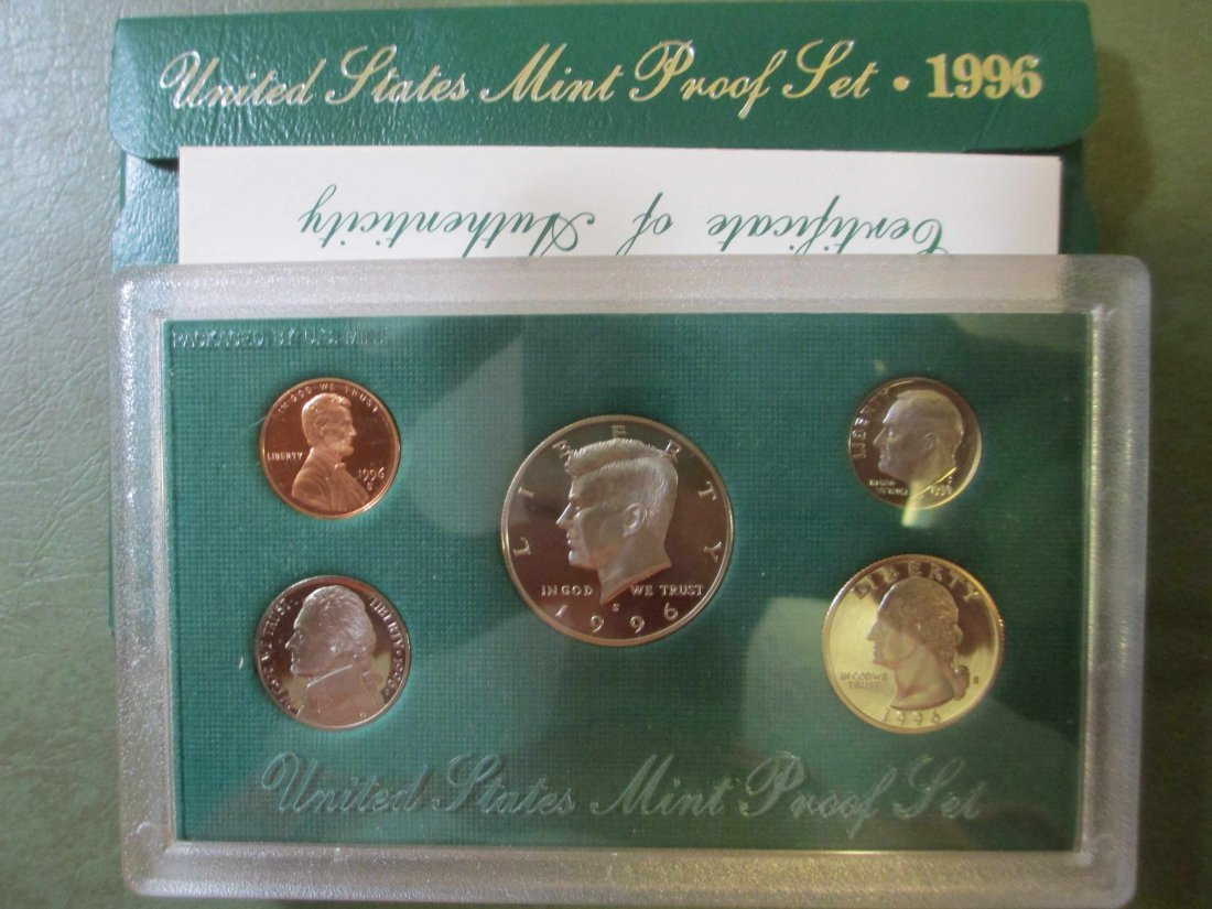 1996 US PROOF SET