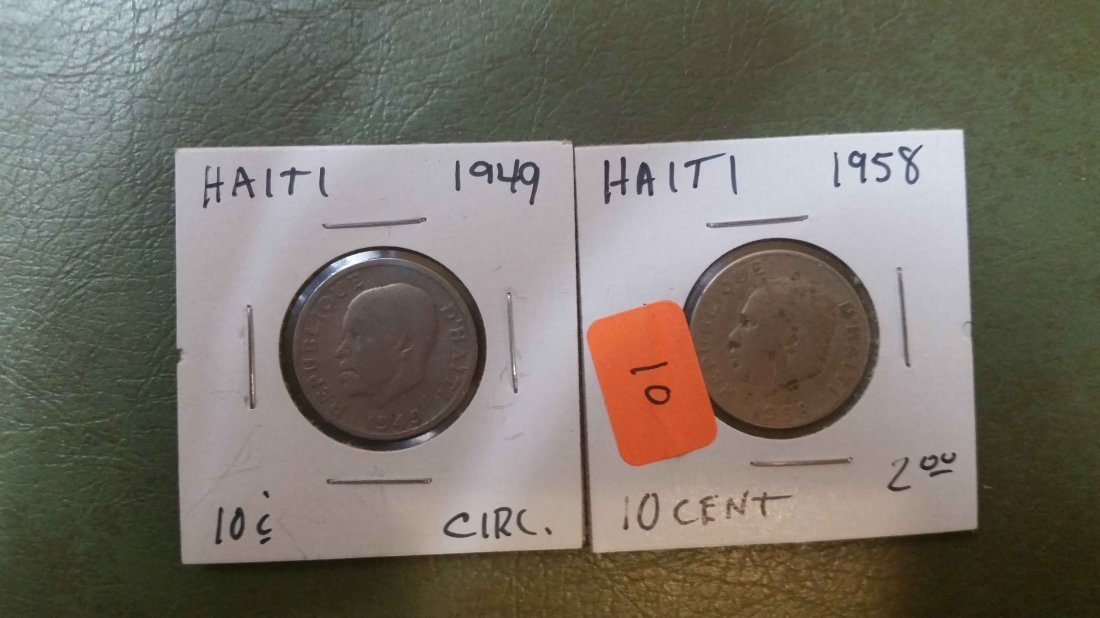 WORLD COINS LOT OF 2