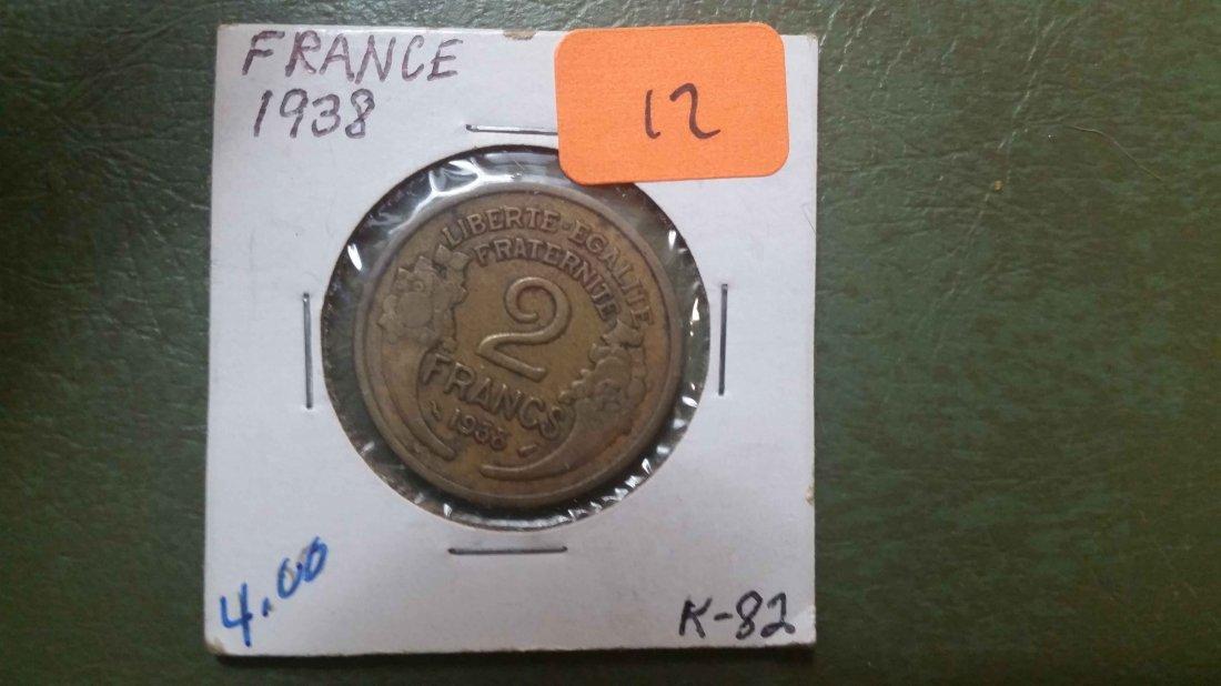 1938 FRANCE COIN