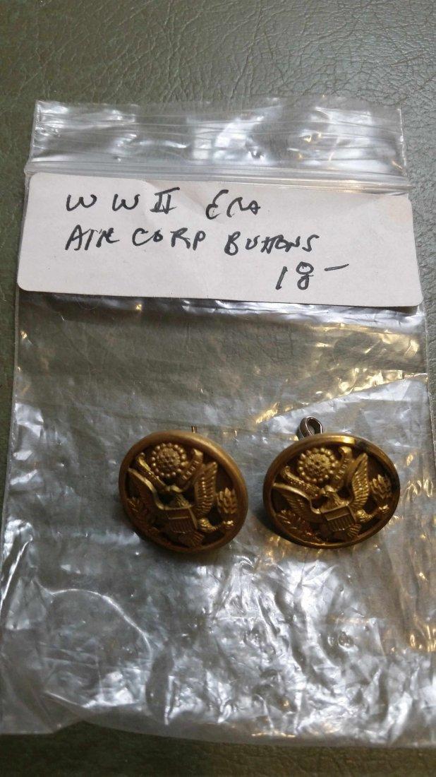 TWOWORLD WAR 2 ERA AIR CORP BUTTONS