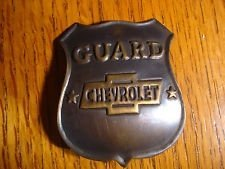 CHEVY GUARD BADGE