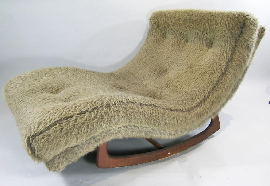 Adrian Pearsall Double Wide Rocking Chaise Lounge, made