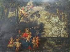 European School, 18th/19th C., Old Master, oil on