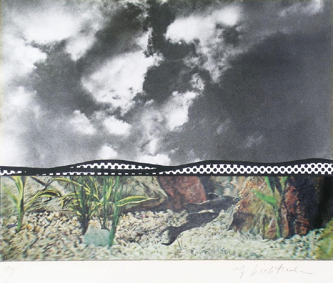 Roy Lichtenstein (American, 1923-1997), silver gelatin