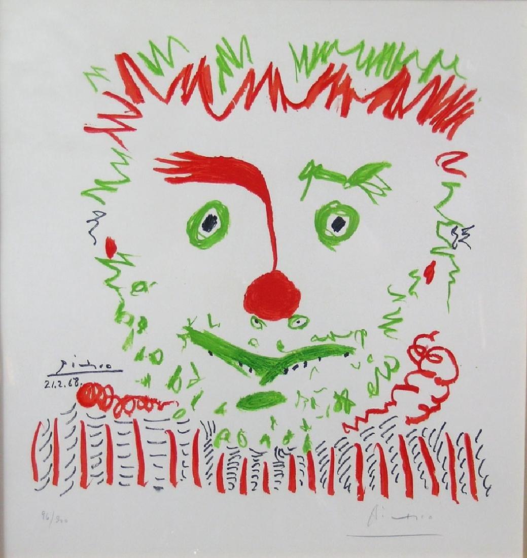 Pablo Picasso, (Spanish, 1881-1973), circa 1968, color