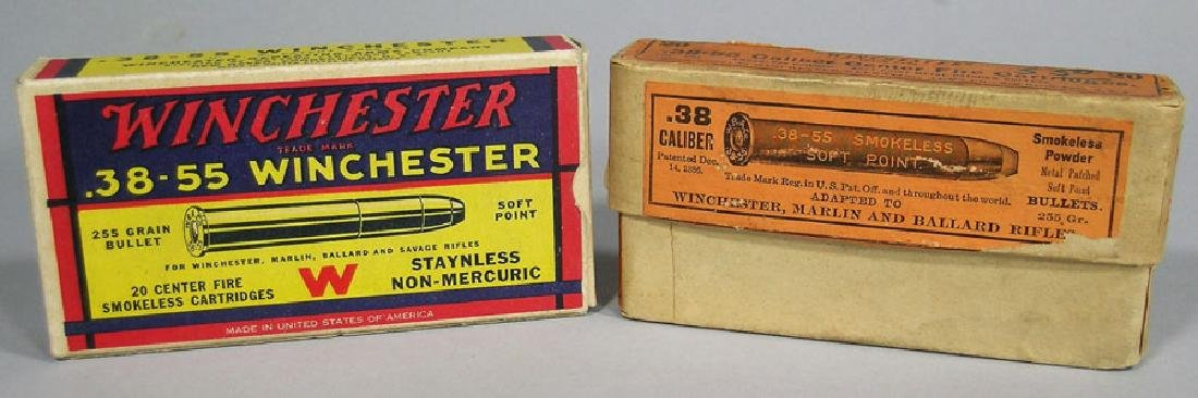 Two Vintage Ammunition Boxes
