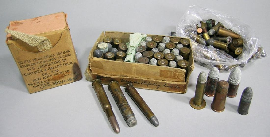 Collection of Vintage Misc. Ammunition