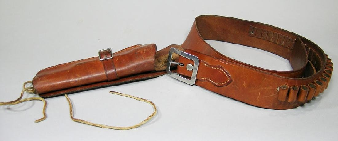 Bianchi Model 1898 44 Leather Gun Belt