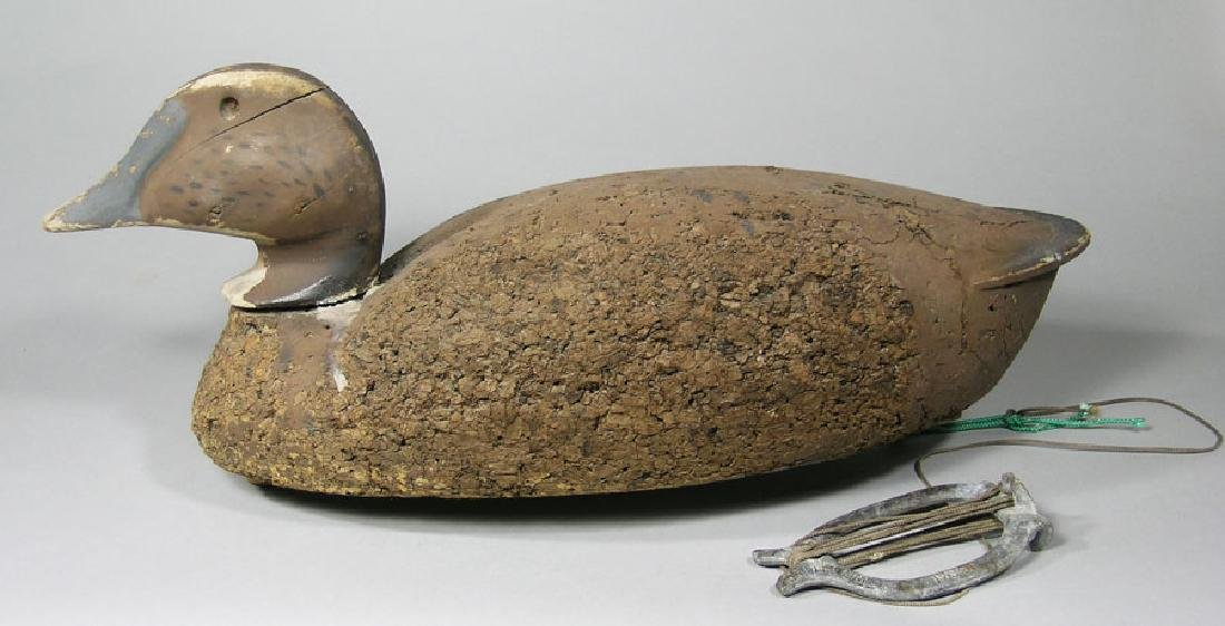Antique Carved Duck Decoy