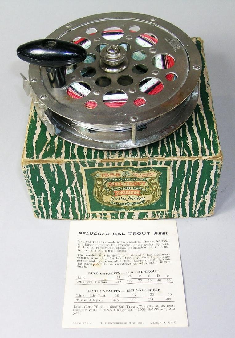 Vintage Pflueger #1558 Sal-Trout Fishing Reel