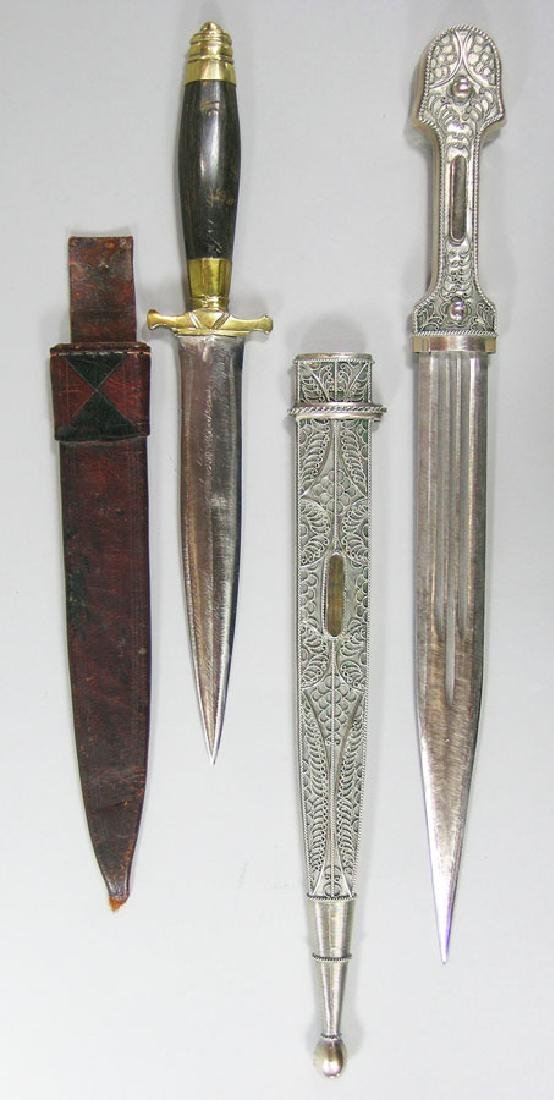 Two 20th C. Daggers