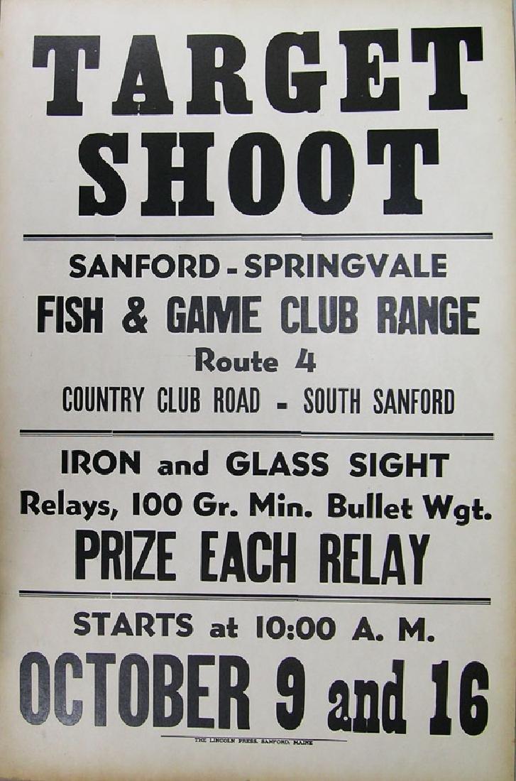 Sanford-Springvale Fish & Game Club TARGET SHOOT