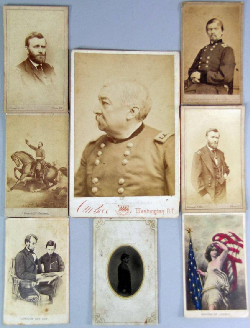 Eight Civil War Related Images